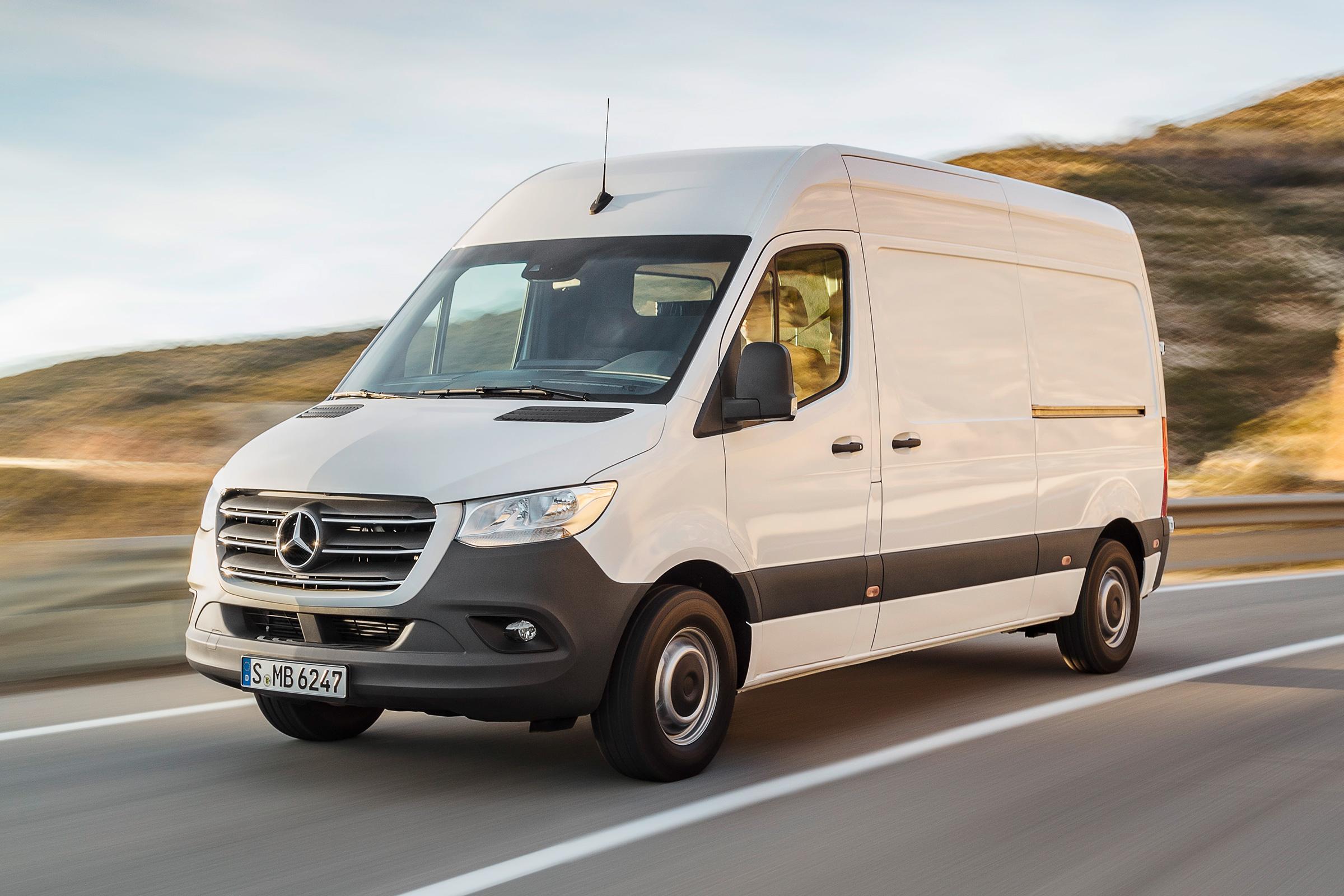 fleet van driver