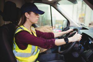 fleet delivery driver behaviour